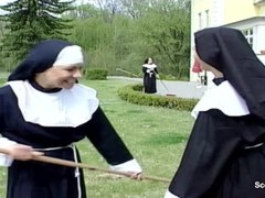 Nun get her First Fuck from Repairman in Kloster Thumb