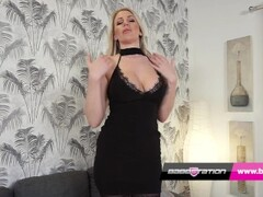 Stunning Babestation girl Dani Maye uses the wand Thumb